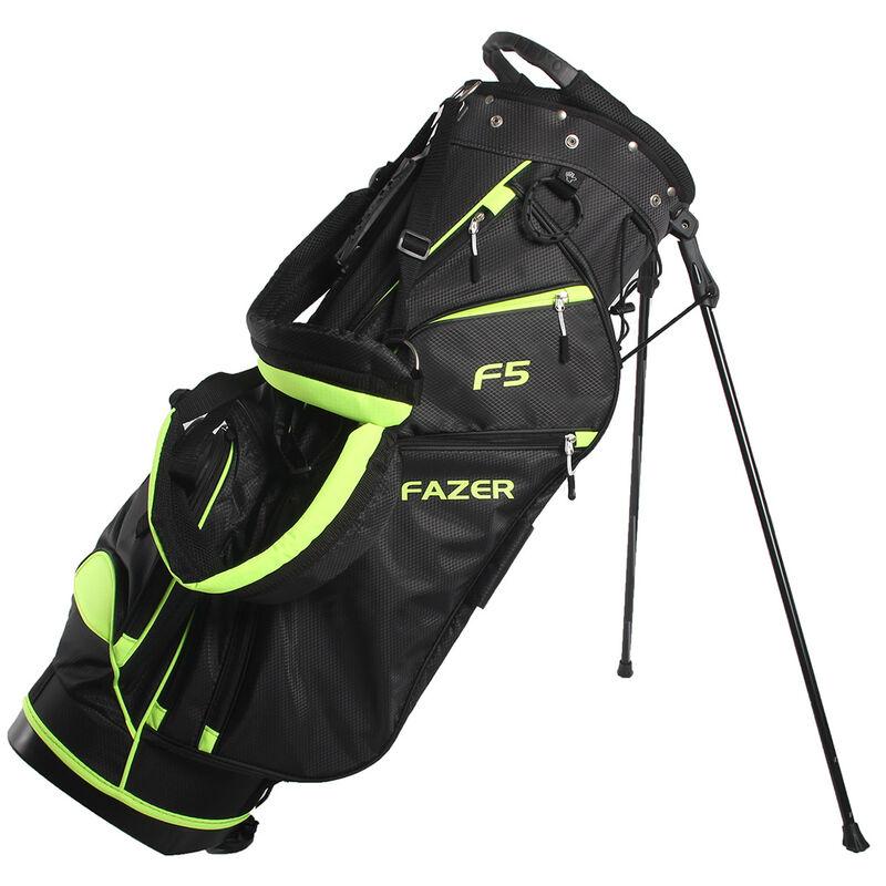 Fazer F5 Lightweight Stand Bag Male BlackLime