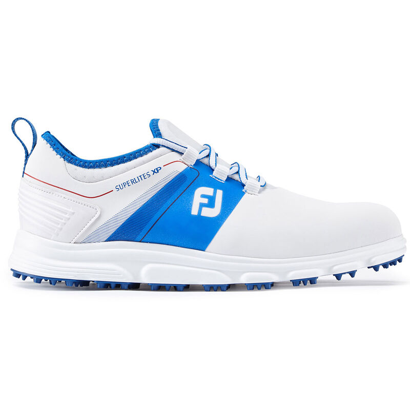 FootJoy Superlites XP Shoes Male WhiteBlueRed 8 Regular