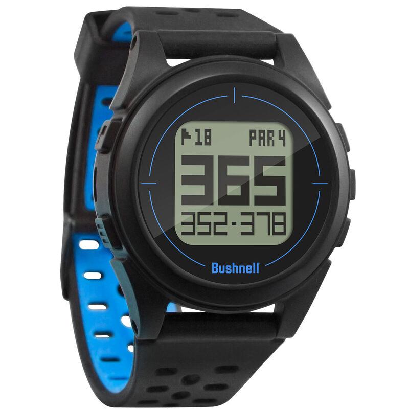 Bushnell iON 2 Golf GPS Watch, Male, Black/Blue