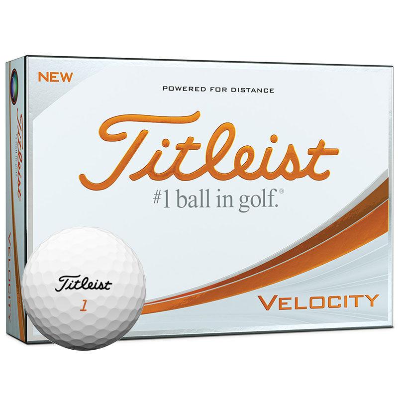 Titleist Velocity Golf Balls Dozen