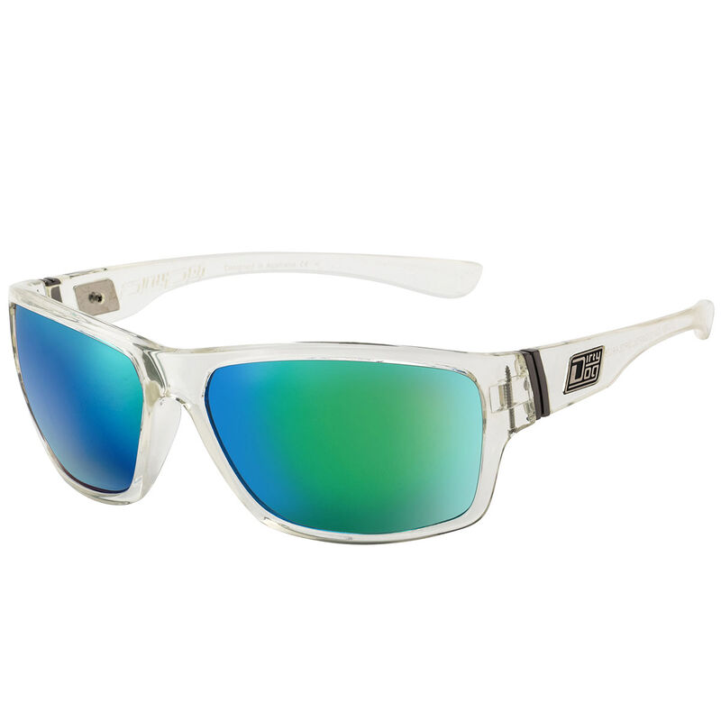 Dirty Dog Storm Mirror Polarised Sunglasses Male CrystalGreen
