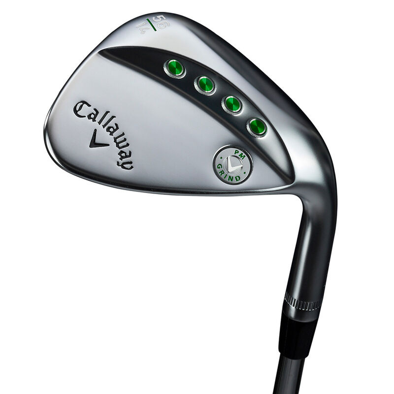 Callaway Golf PM Grind Tour Chrome Wedge Male Left Hand 60° 12 Steel
