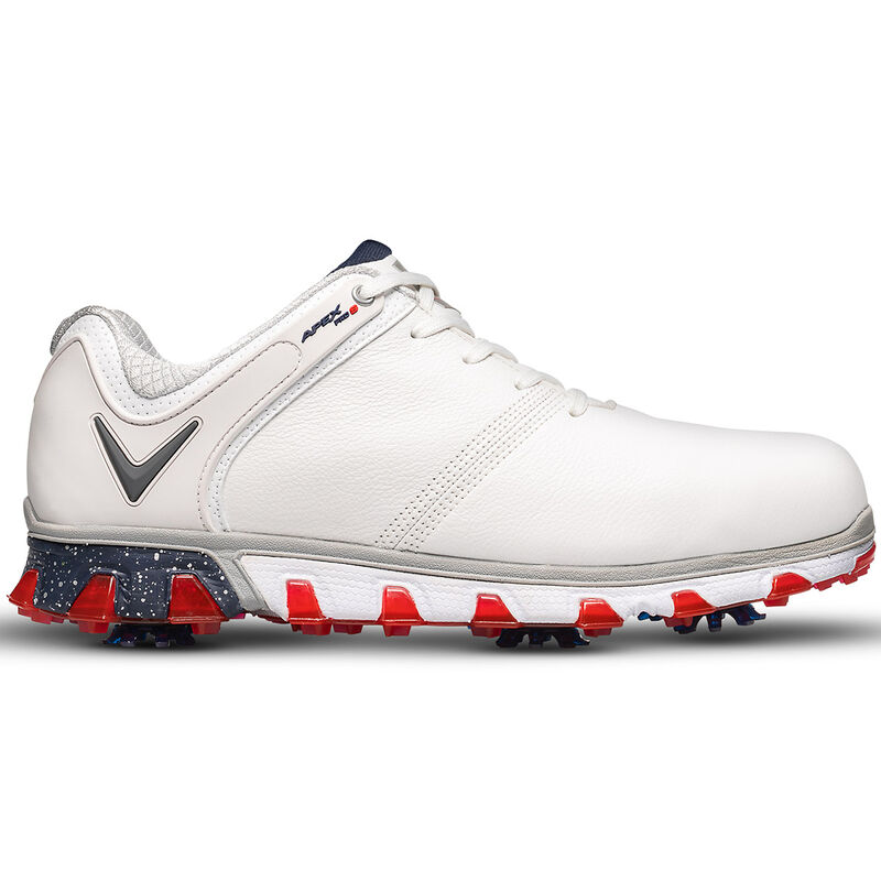 Callaway Golf Apex Pro S Shoes Male WhiteRed 10