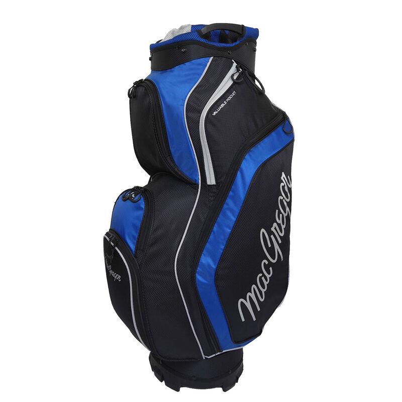 MacGregor Response Golf Cart Bag, Black/Blue
