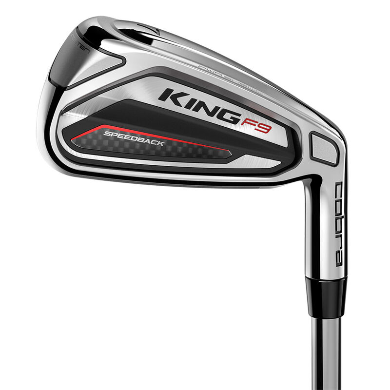 Cobra Golf F9 Speedback Steel Irons Male 5 GW 7 Irons Right Hand Steel Regular