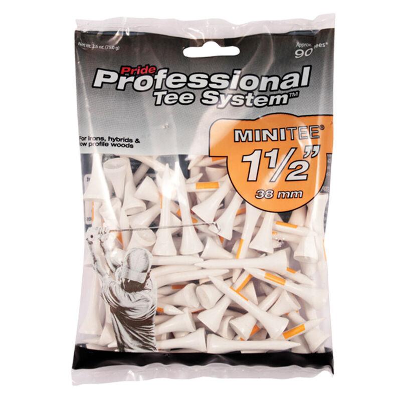 Pride Professional MINI Golf Tees 90 Pack Male Tees Orange