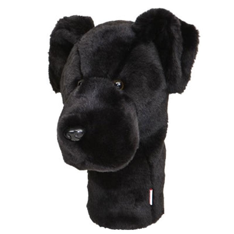 Daphnes Black Labrador Head Cover, Male, Labrador