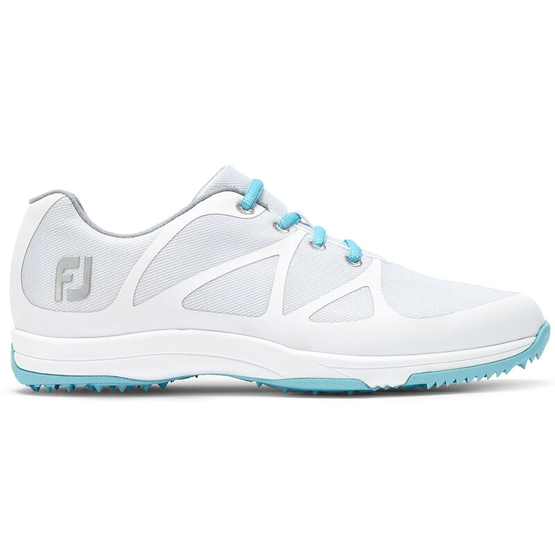 FootJoy Ladies Leisure Golf Shoes Female WhiteBlue 8 Regular