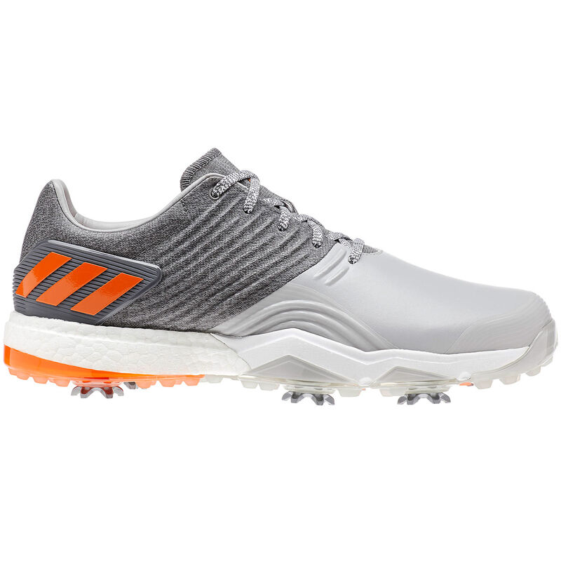 adidas Golf Adipower 4Orged Shoes Male Grey TwoGrey FourEnergy Oran 11 Wide