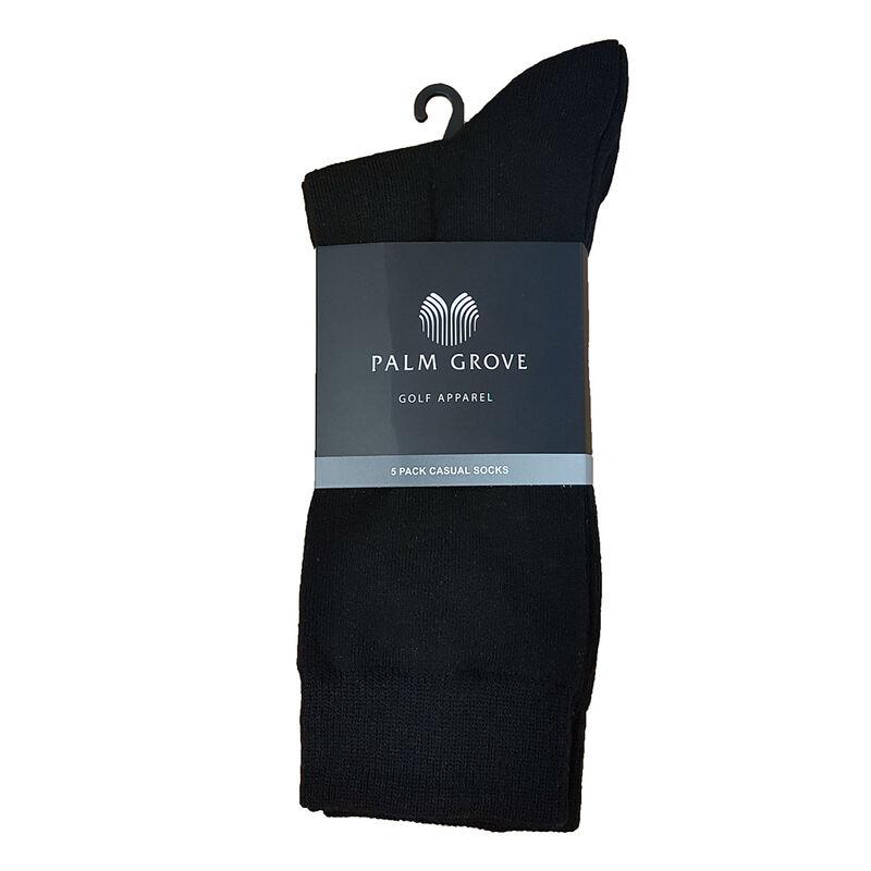 Palm Grove Casual Socks Male Black One Size