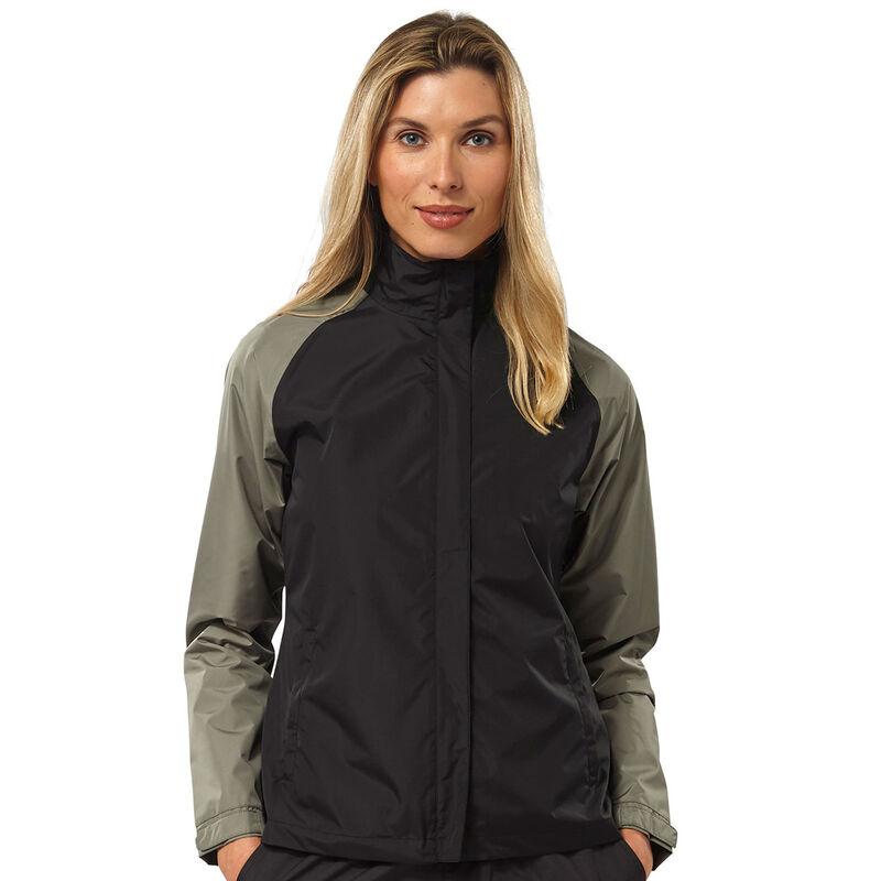 Palm Grove Waterproof Suit Female BlackGrey 10