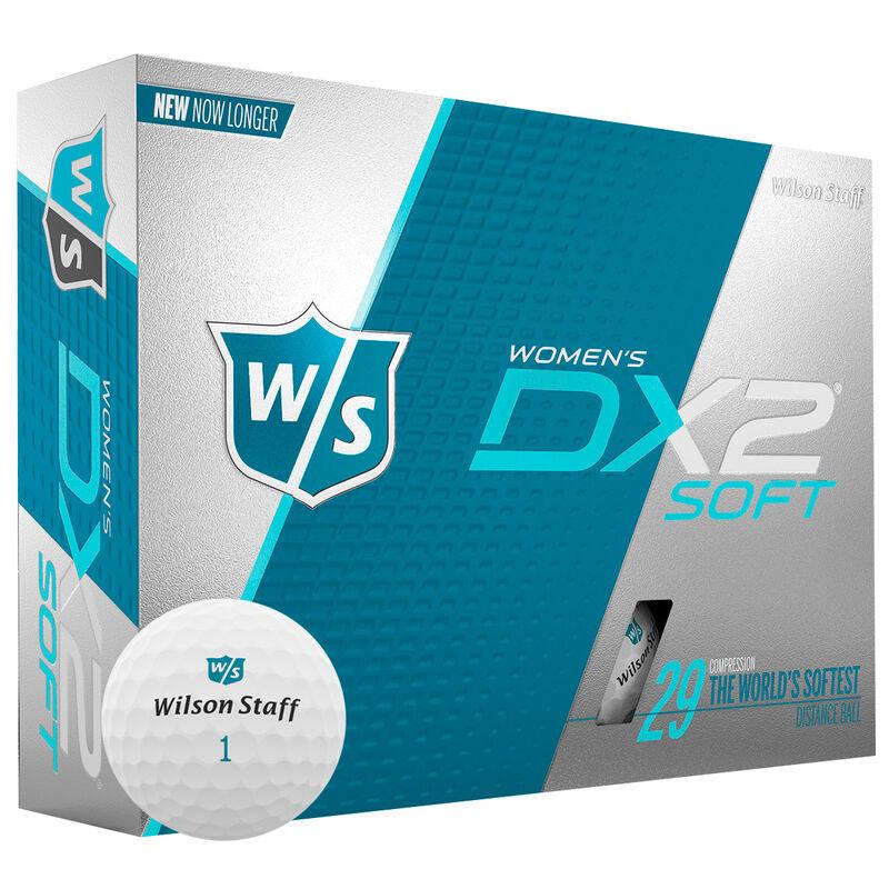 Wilson Staff DX2 Soft Golf Balls Dozen Ladies