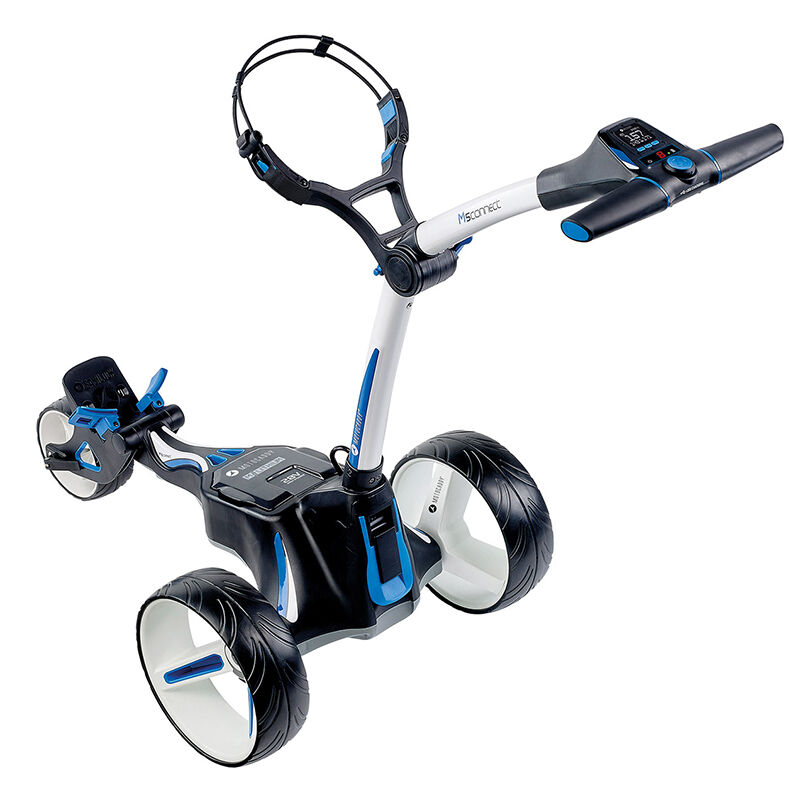 Motocaddy M5 Connect Extended Range Lithium Electric Trolley Male Alpine