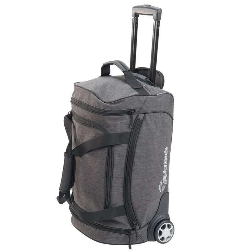 TaylorMade Classic Rolling Carry On Bag Male Heather Grey