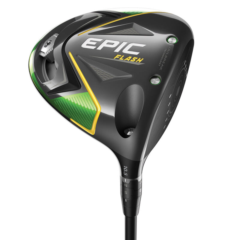 Callaway Golf Epic Flash Driver Male Right Hand 105° Project X Hzrdus Smoke 60 Stiff