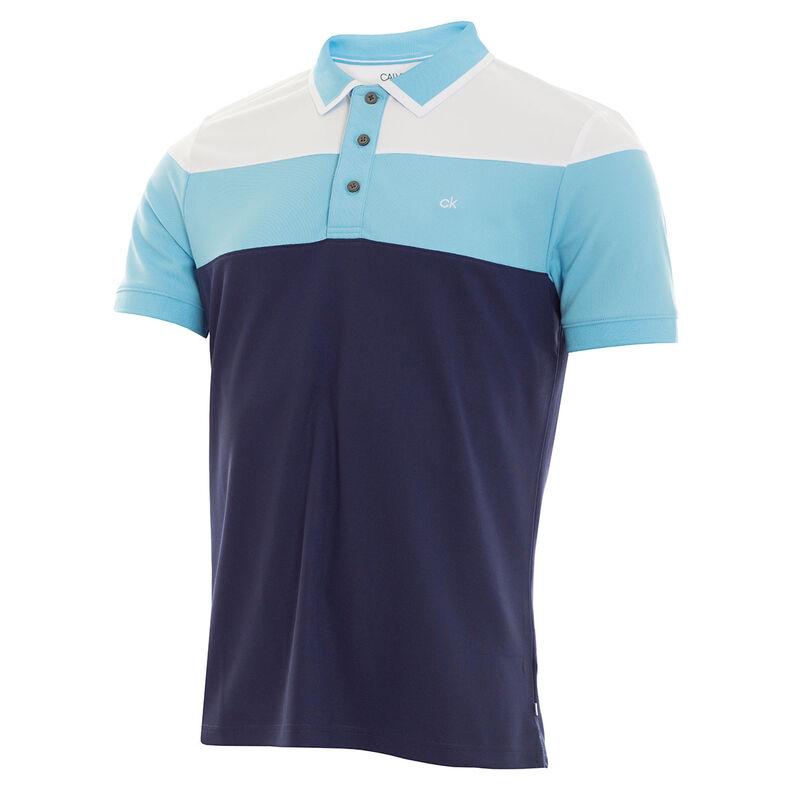Calvin Klein Arinox Golf Polo Shirt, Male, Navy, Large