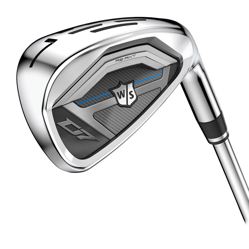 Wilson Staff D7 Steel Irons Male 5 PW 6 Irons Left Hand Steel Regular