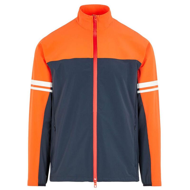J.Lindeberg Archer Softshell Golf Jacket, Male, Navy Blue, Large