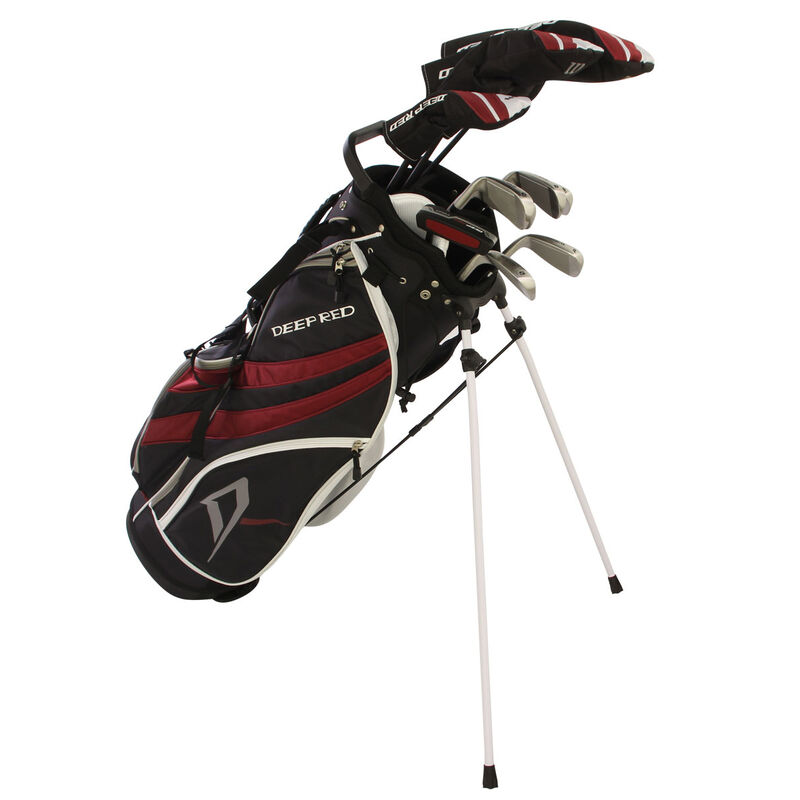 Wilson Deep Red Tour Package Set Male Right Hand Carry BlackRed