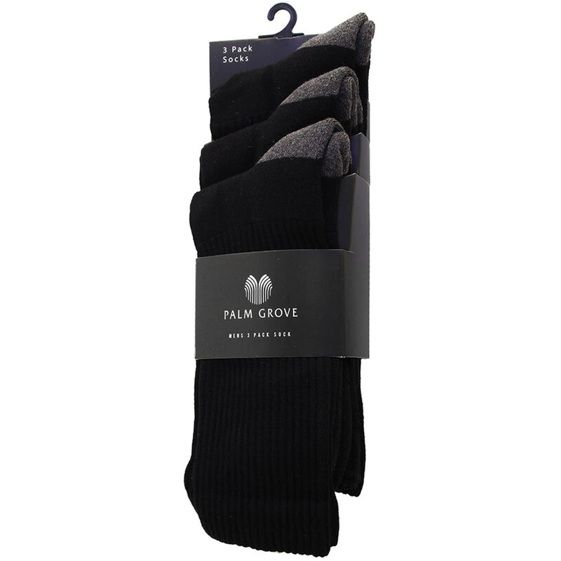 Palm Grove Technical Socks Male Black One Size