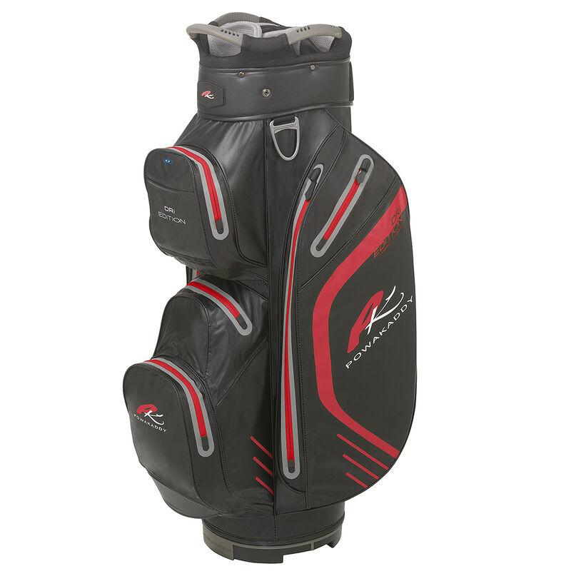 PowaKaddy Dri Edition Cart Bag Male Black Red