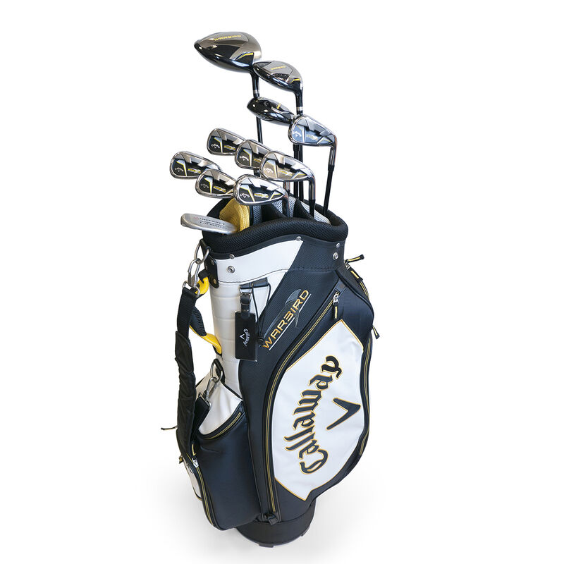 Callaway Golf Warbird Package Set Male Right Hand Cart Bag