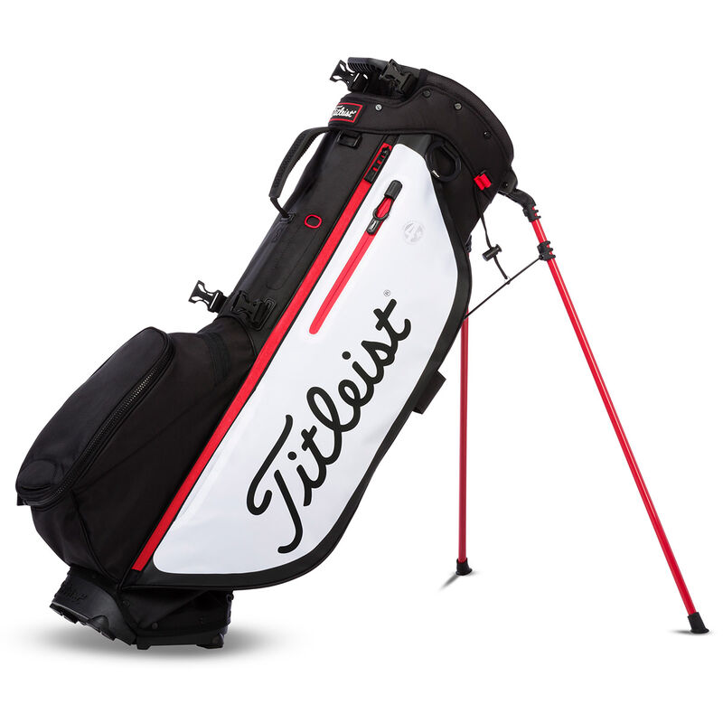 Titleist Players 4 Plus Stand Bag Male BlackWhiteRed