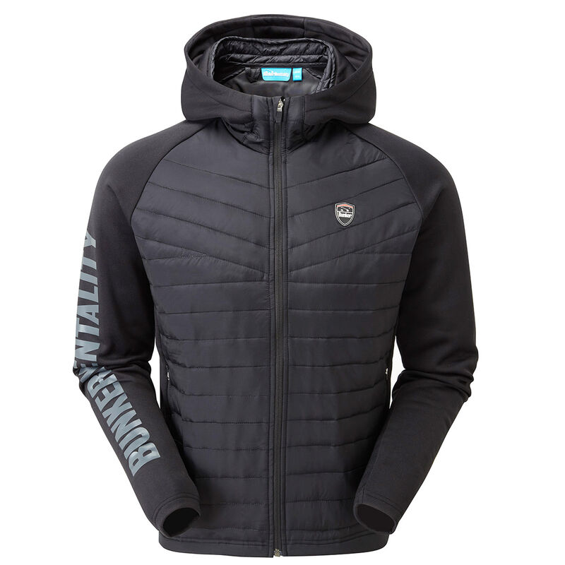 Bunker Mentality Puffer Caddy Tech Hoodie Male Black Large