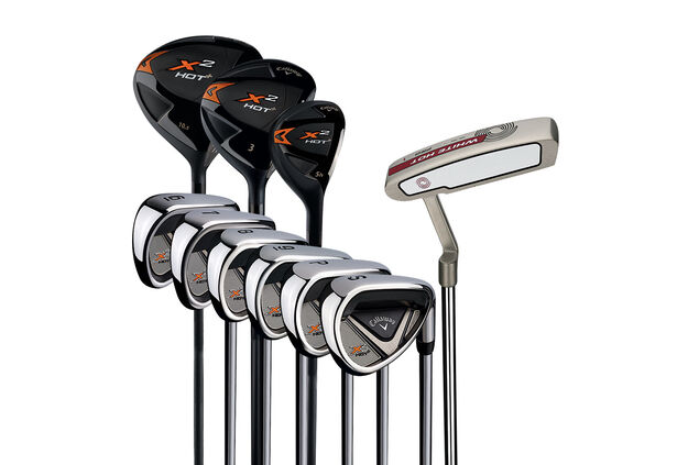 Callaway Golf X2 Plus Hot Package Set