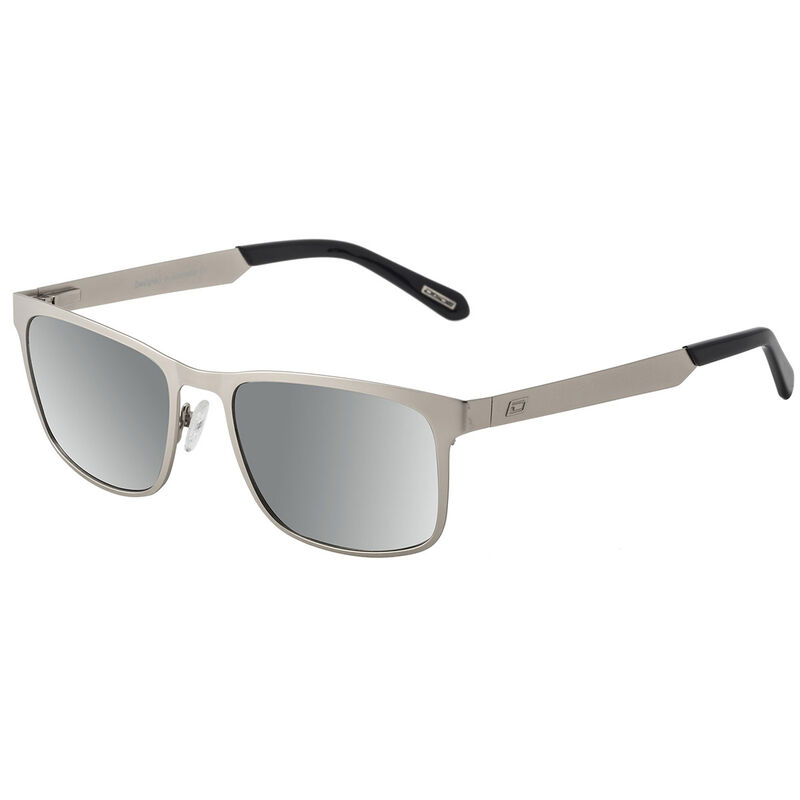 Dirty Dog Hurricane Mirror Polarised Sunglasses Male SilverGrey