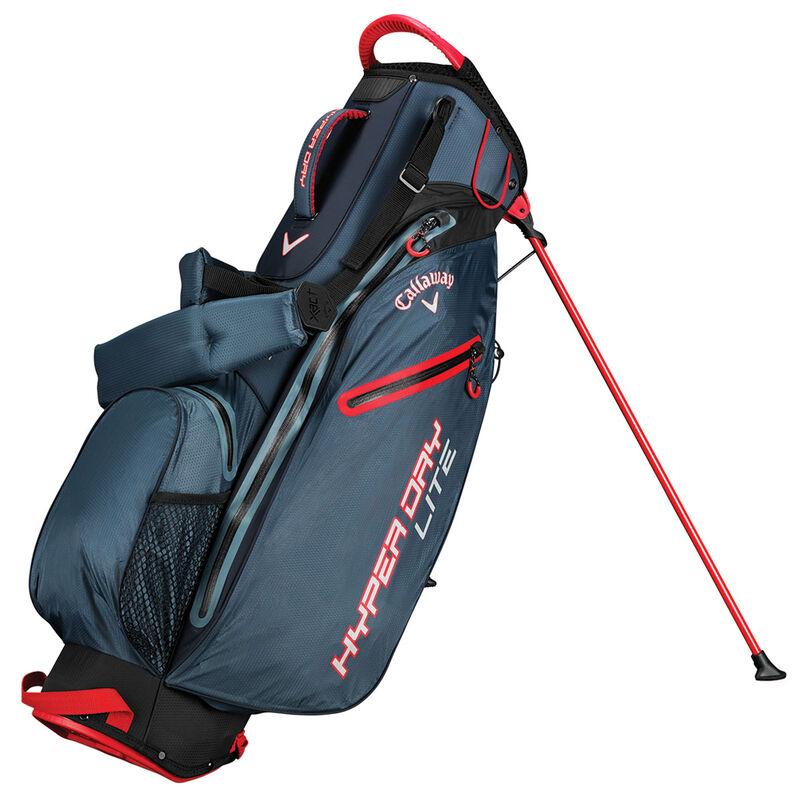 Callaway Golf Hyper Dry Lite Stand Bag Male TitaniumBlackRed