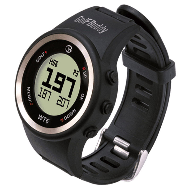 GolfBuddy WT6 GPS Watch Male Black