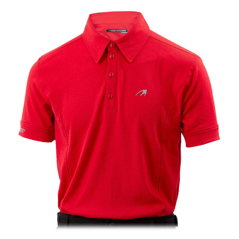 Benross Pro Shell X Polo Shirt Male Red XL