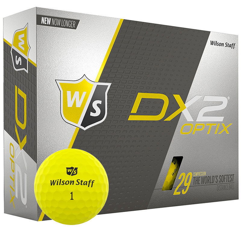 Wilson Staff DX2 Soft Golf Balls Dozen