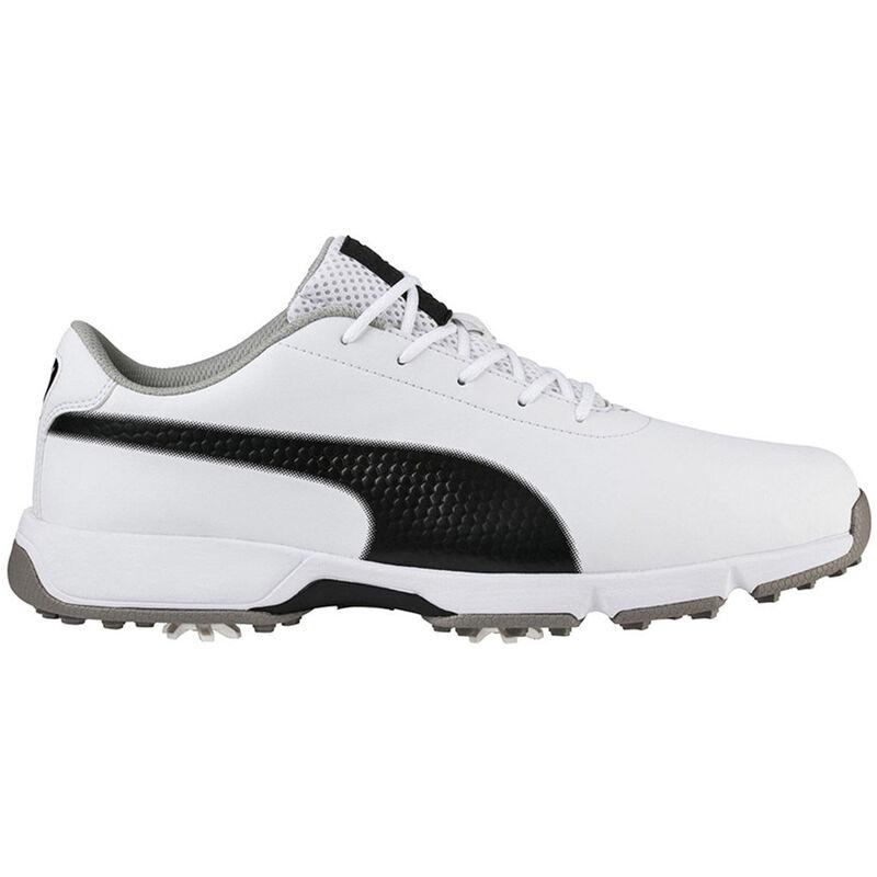 PUMA Golf Drive Cleated Classic Shoes Male WhiteBlack 9