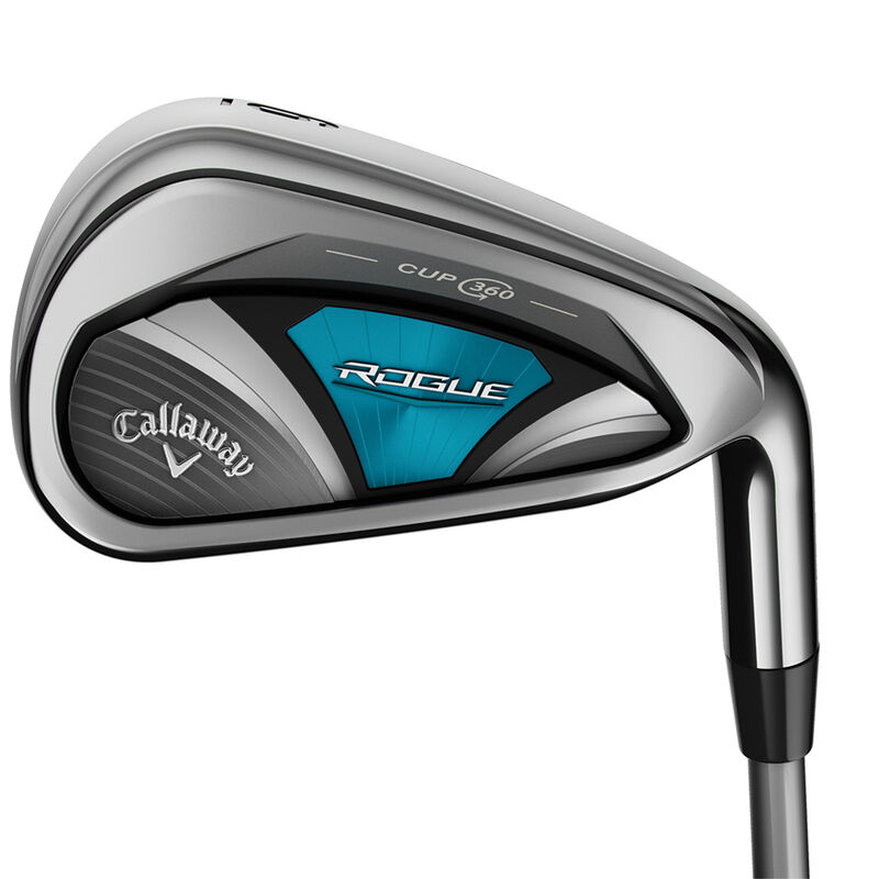 Callaway Golf Ladies Rogue Graphite Irons Female 6 SW 6 Irons Right Hand Graphite Lady Flex