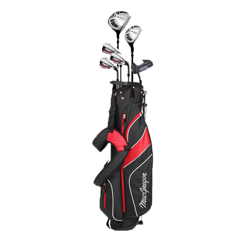 MacGregor CG2000 Stand Bag Steel Half Package Set Male Right Hand Stand Bag BlackRed