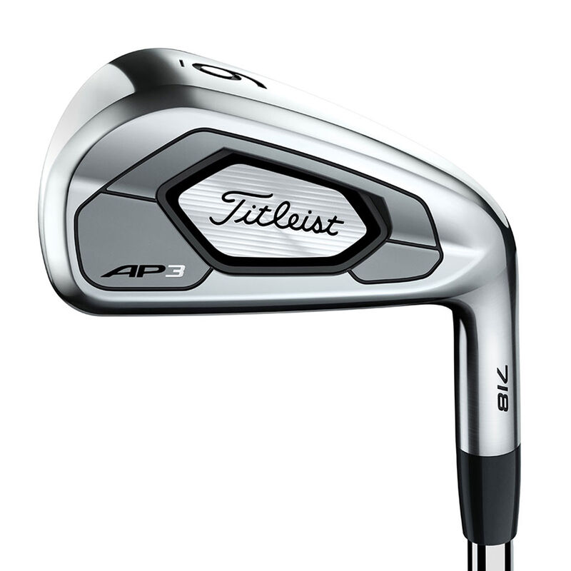 Titleist 718 AP3 Irons Male 5 PW 6 Irons Right Hand Steel Stiff