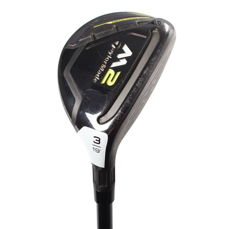 TaylorMade M2 2017 Used Hybrid Male Right Hand 19° Graphite Stiff Fair