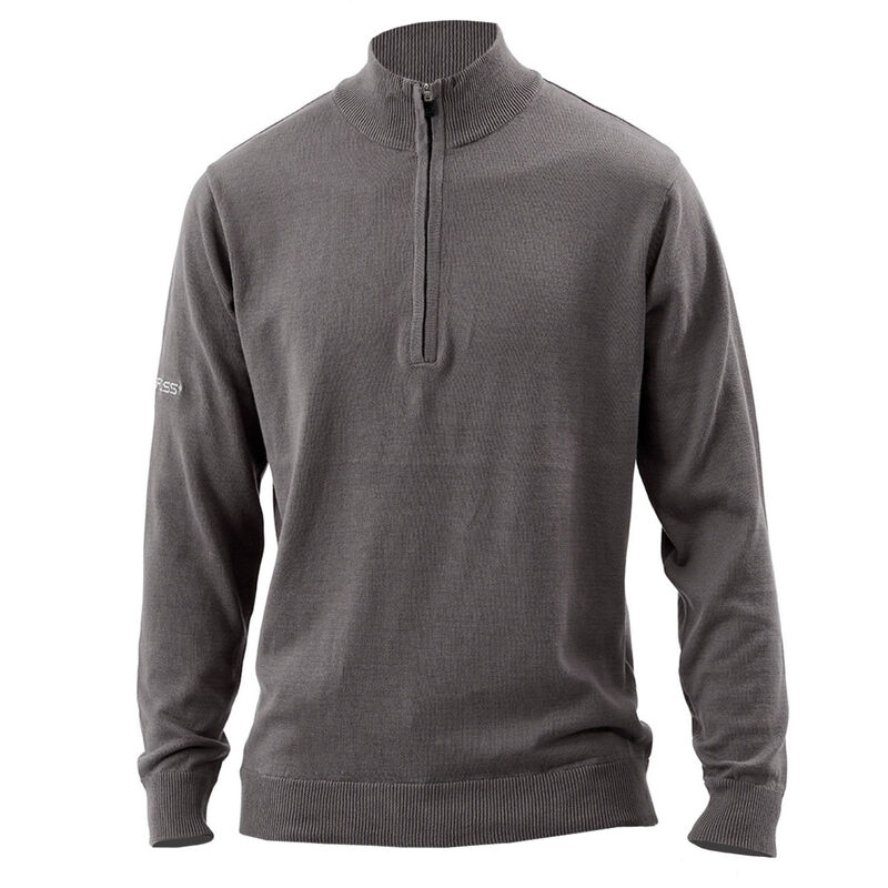 Benross Proshell X Zip Neck Sweater Male Grey XXL