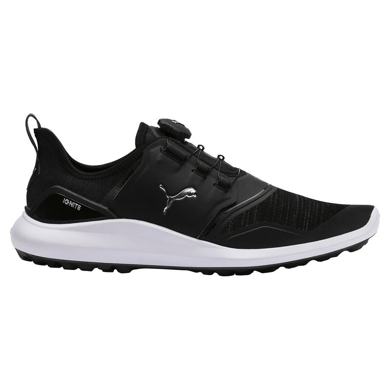 PUMA Golf IGNITE NXT Disc Shoes Male BlackSilver 8