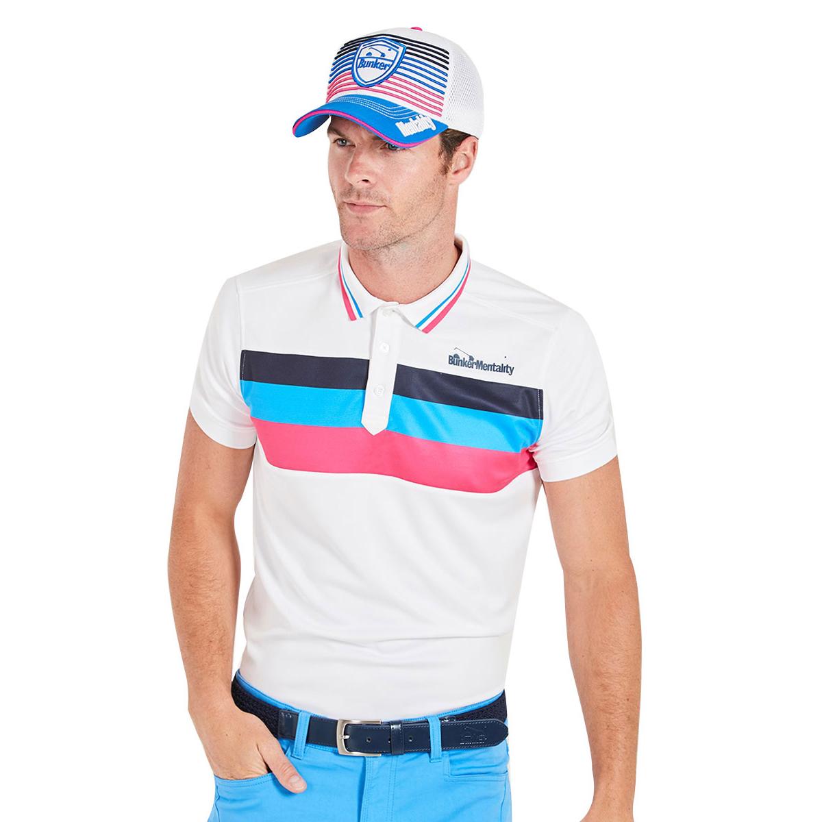 49742009 Bunker Mentality Triple Stripe Tech CMAX Polo Shirt. Sale. Bunker Mentality Polo  CMAX W8 · Bunker Mentality Polo CMAX W8 ...