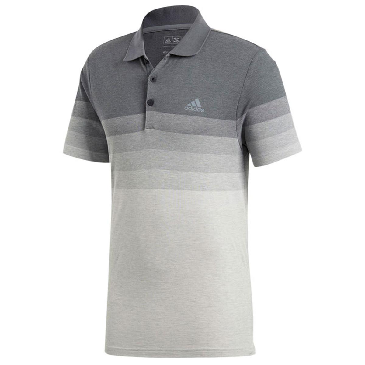 49064c0b37443 White Adidas Polo Shirt | Azərbaycan Dillər Universiteti