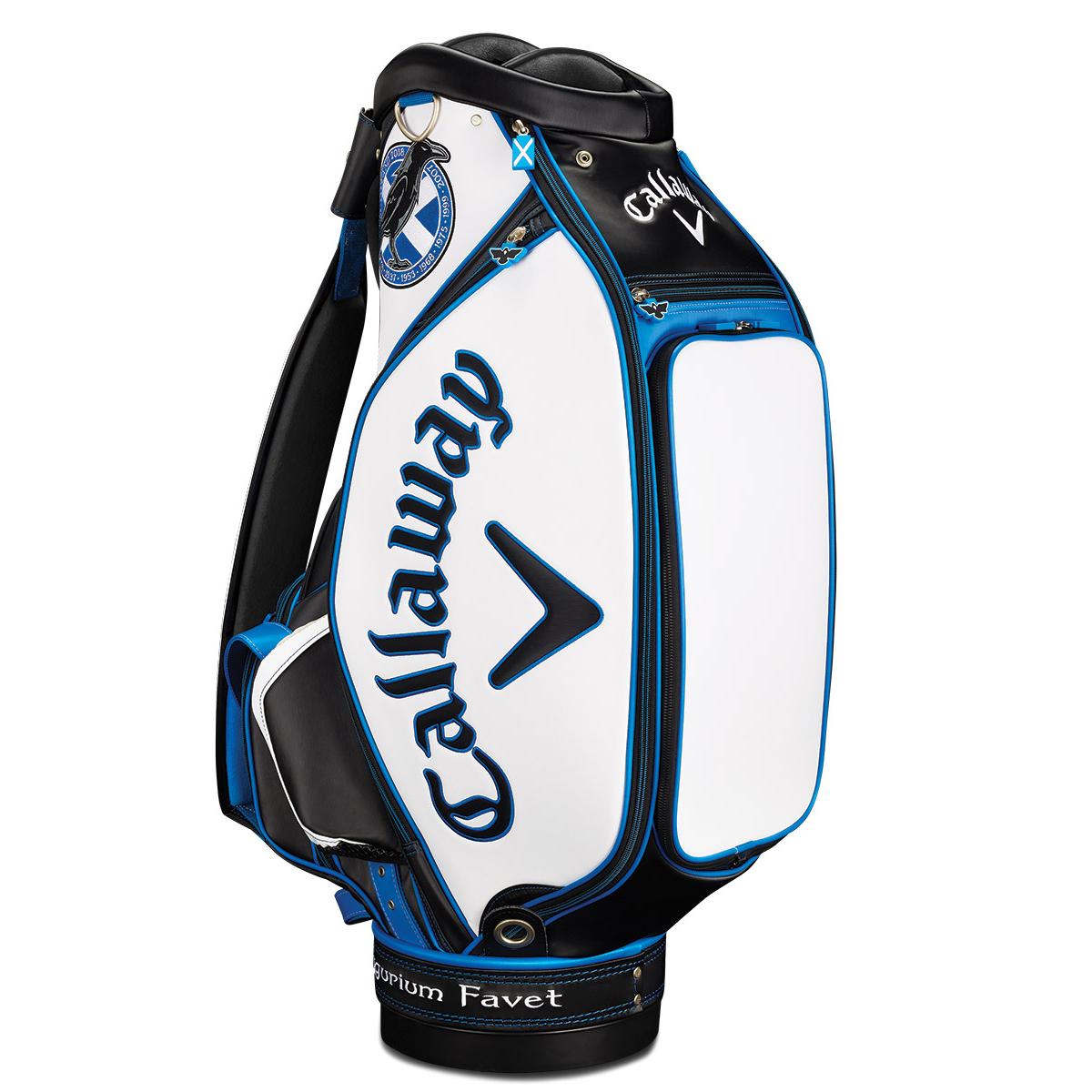 callaway golf british open 2018 staff bag