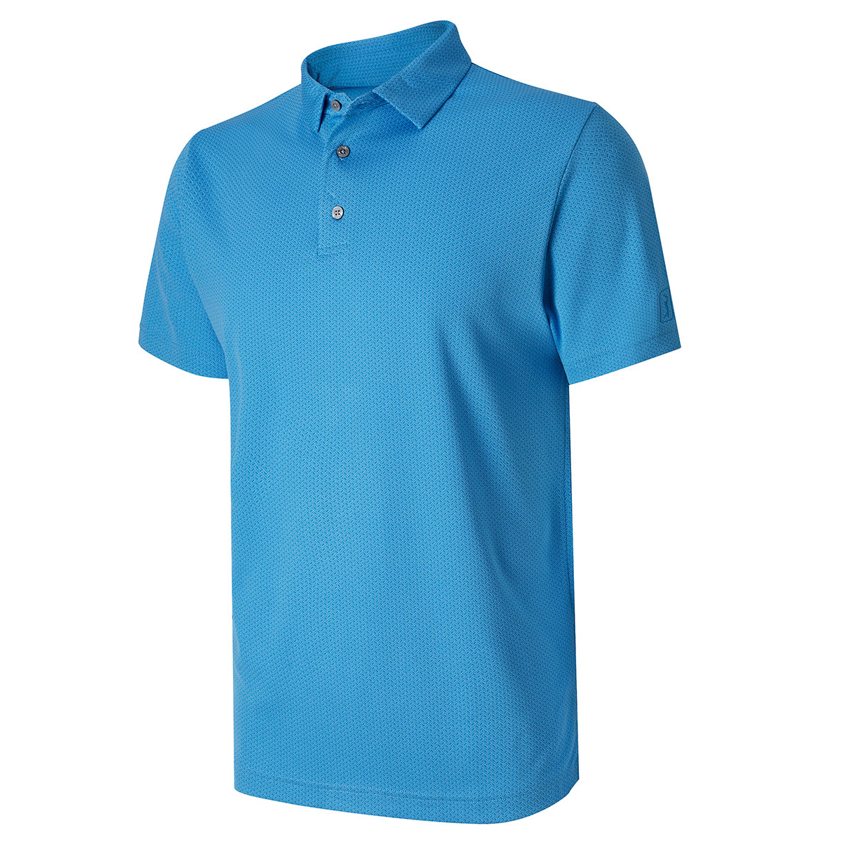 pga tour jacquard polo shirt