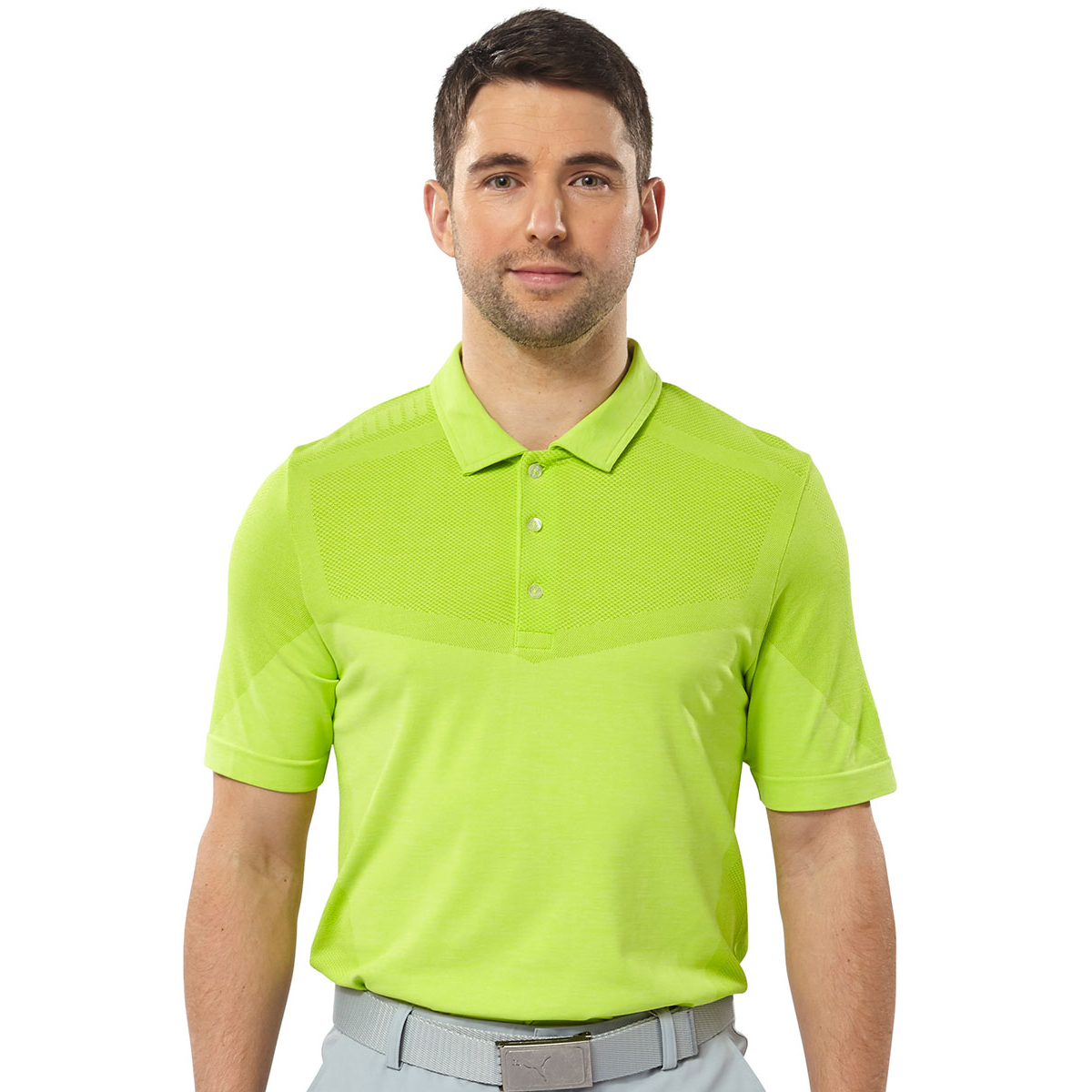 9a64e7b3ab4a PUMA Golf EVOKNIT Seamless Polo Shirt 2018