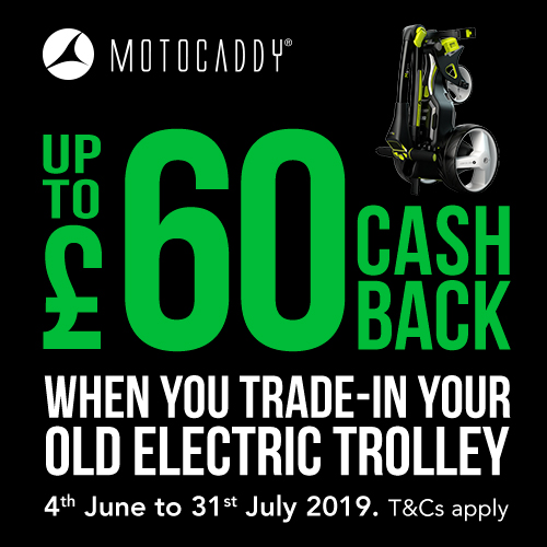 Motocaddy Cash Back