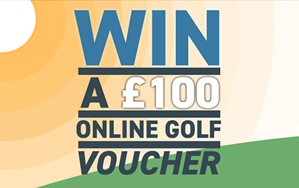 Win £100 Online Golf Voucher