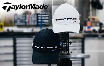 TaylorMade TwistFace Cap Competition