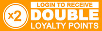 Double Loyalty Points